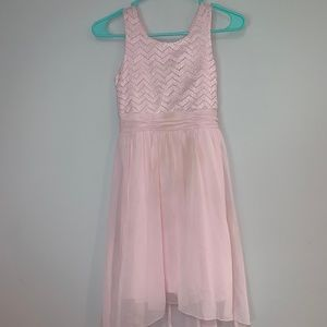 Pink dress from Speechless. Worn once
